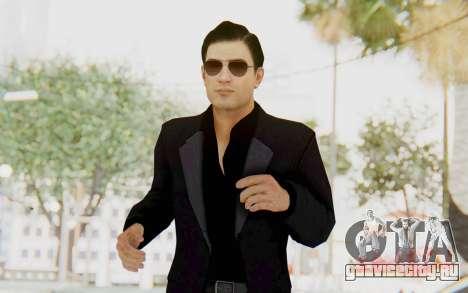 Mafia 2 - Vito Scaletta Madman Suit Black для GTA San Andreas