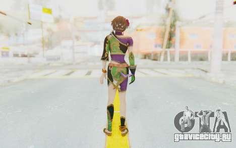 Musou Orochi 2: Ultimate - Sun Shangxiang v2 для GTA San Andreas третий скриншот