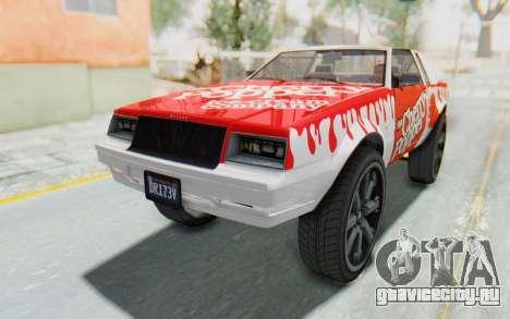 GTA 5 Willard Faction Custom Donk v2 для GTA San Andreas вид сверху