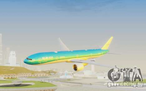 Boeing 777-300ER KLM - Royal Dutch Airlines v2 для GTA San Andreas
