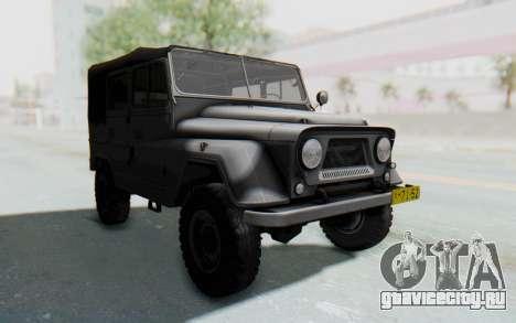 УАЗ-460Б для GTA San Andreas вид справа