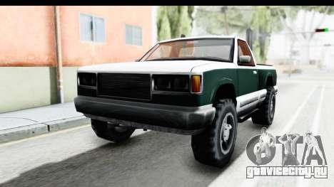 Yosemite Truck для GTA San Andreas вид сзади слева