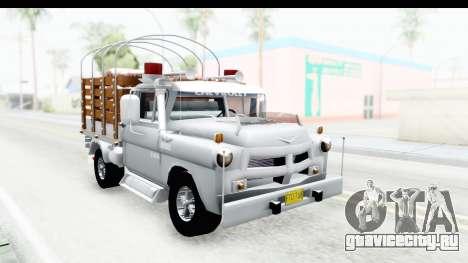 Chevrolet 3100 Diesel v2 для GTA San Andreas вид справа