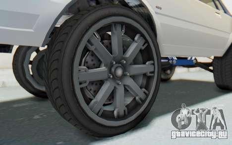 GTA 5 Willard Faction Custom Donk v2 для GTA San Andreas вид сзади