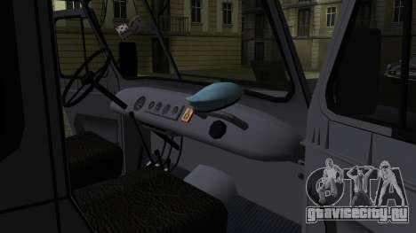 УАЗ-469 для GTA San Andreas вид снизу