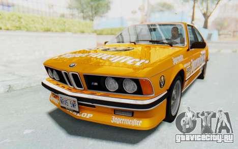 BMW M635 CSi (E24) 1984 IVF PJ3 для GTA San Andreas