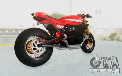 Honda CB750 Moge Cafe Racer для GTA San Andreas вид справа