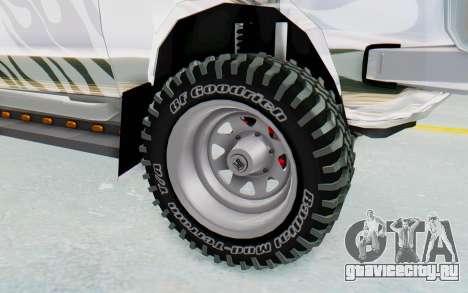 Ikco Super Peykan Pickup для GTA San Andreas вид сзади