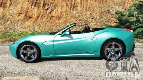 Ferrari California Autovista [add-on] для GTA 5 вид слева