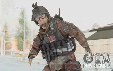 COD MW2 Russian Paratrooper v2 для GTA San Andreas