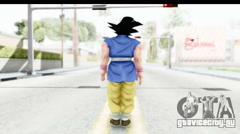Dragon Ball Xenoverse Goku GT Adult SJ для GTA San Andreas третий скриншот