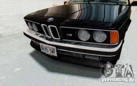 BMW M635 CSi (E24) 1984 IVF PJ3 для GTA San Andreas вид сбоку