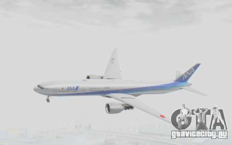 Boeing 777-300ER ANA JA735A для GTA San Andreas