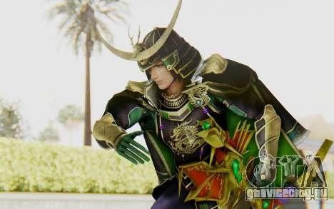 Sengoku Musou 4 - Date Masamune для GTA San Andreas