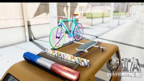 Toyota Kijang Grand Extra with Bike для GTA San Andreas вид изнутри