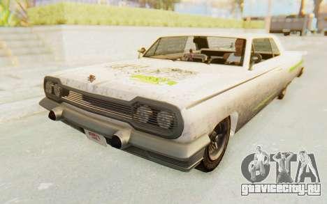GTA 5 Declasse Voodoo PJ для GTA San Andreas вид сбоку