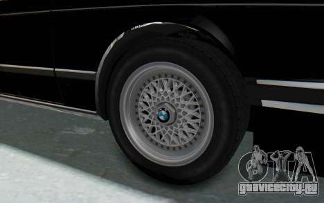 BMW M635 CSi (E24) 1984 IVF PJ3 для GTA San Andreas вид сзади