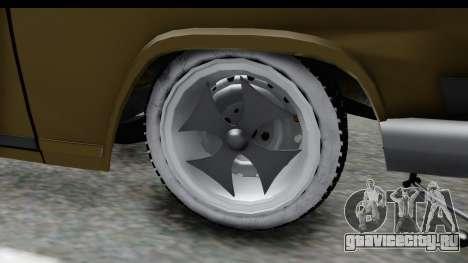 ГАЗ-21 Hamann H22 для GTA San Andreas вид сзади