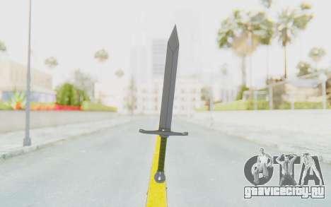 Trunks Del Futuro Katana для GTA San Andreas второй скриншот