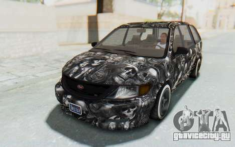 GTA 5 Vapid Minivan Custom для GTA San Andreas