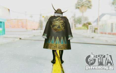 Sengoku Musou 4 - Date Masamune для GTA San Andreas третий скриншот