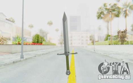 Trunks Del Futuro Katana для GTA San Andreas третий скриншот