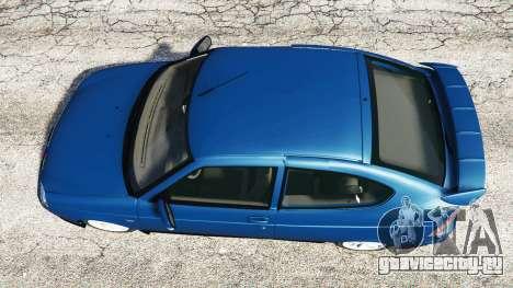 Lada Priora Sport Coupe v0.1 для GTA 5 вид сзади