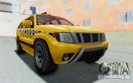 Canis Seminole Taxi для GTA San Andreas