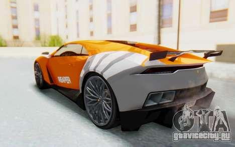 GTA 5 Pegassi Reaper SA Lights для GTA San Andreas вид изнутри