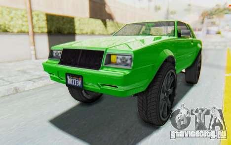 GTA 5 Willard Faction Custom Donk v3 для GTA San Andreas вид сзади слева