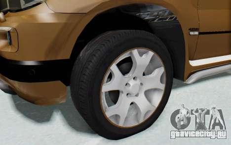 BMW X5 Pickup для GTA San Andreas вид сзади