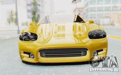 Mitsubishi 3000GT 1999 для GTA San Andreas вид изнутри