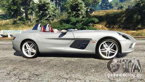 Mercedes-Benz SLR McLaren 2009 для GTA 5 вид слева