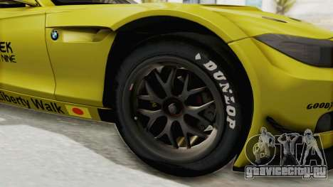 BMW Z4 Liberty Walk для GTA San Andreas вид сзади