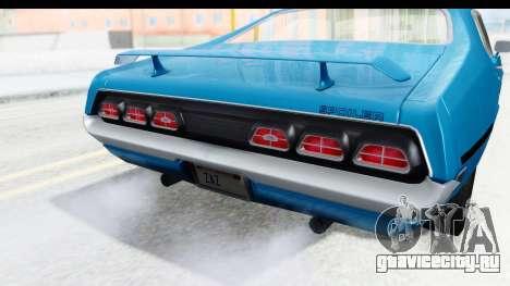 Mercury Cyclone Spoiler 1970 для GTA San Andreas вид сбоку