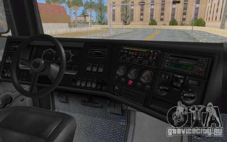 GTA 5 HVY Brickade IVF для GTA San Andreas вид сверху