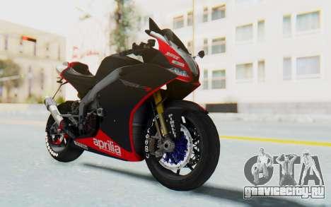 Aprilia RSV4 StreetRace для GTA San Andreas
