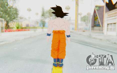 Dragon Ball Xenoverse Goku Shirtless SJ для GTA San Andreas третий скриншот