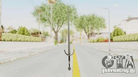 The Witcher 3: Wild Hunt - Sword v2 для GTA San Andreas второй скриншот