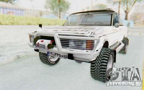 Ikco Super Peykan Pickup для GTA San Andreas