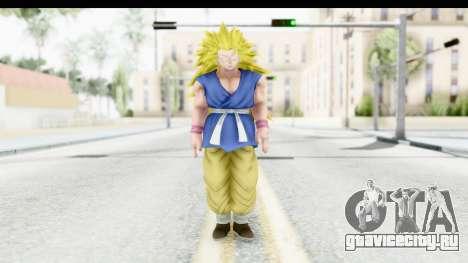 Dragon Ball Xenoverse Goku GT Adult SSJ3 для GTA San Andreas второй скриншот