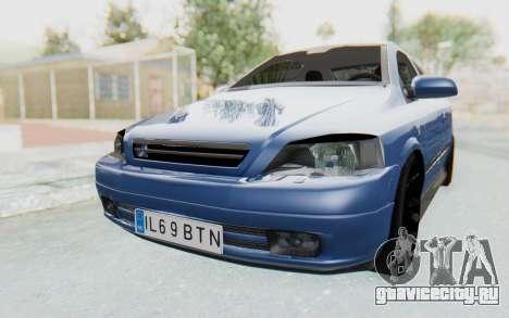 Opel Bertone для GTA San Andreas вид справа