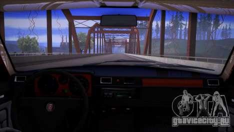 ГАЗ 31029 V8 для GTA San Andreas вид сзади