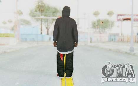 TheWOLF Skin для GTA San Andreas третий скриншот