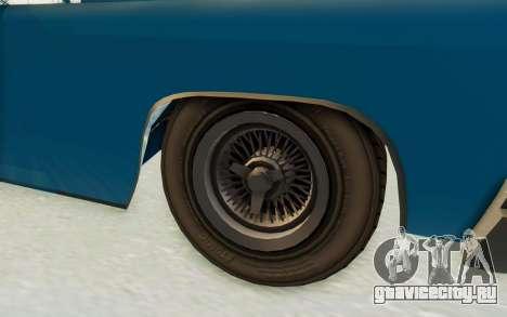 GTA 5 Declasse Voodoo PJ для GTA San Andreas вид сзади