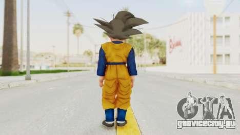 Dragon Ball Xenoverse Goten SJ для GTA San Andreas третий скриншот