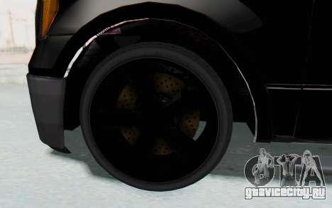 Ford F-150 JDM для GTA San Andreas вид сзади
