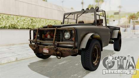 GTA 5 Canis Bodhi Trevor IVF для GTA San Andreas вид справа