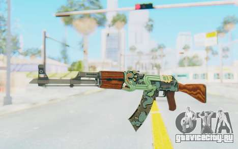 CS:GO - AK-47 Fire Serpent для GTA San Andreas