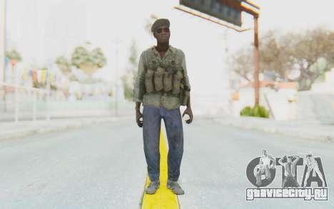CoD MW3 Africa Militia v4 для GTA San Andreas второй скриншот